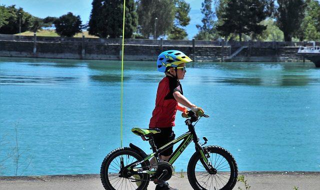 Ab wann Fahrradfahren fuer Kinder gut ist?