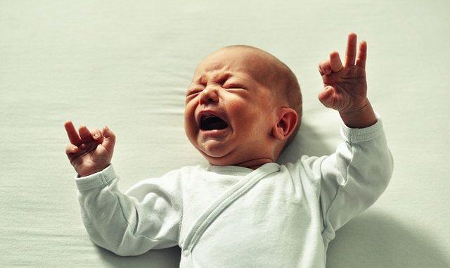 Baby kreischt